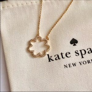 NEW! Kate Spade crystal flower necklace